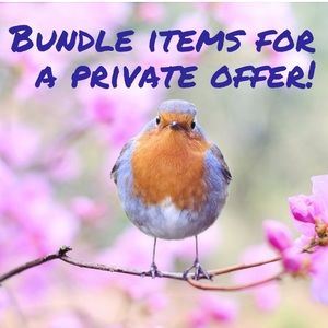 BUNDLE TO SAVE!!!